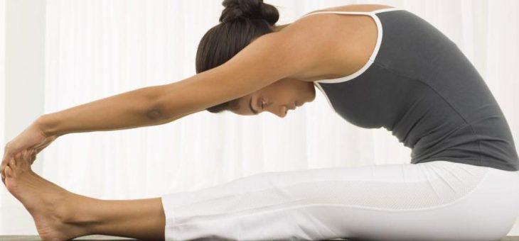 Здраве с потупване и разтягане